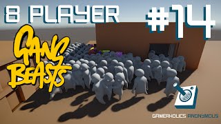 Download 8 Player Massacre || Waves || Gang Beasts || Ep14 Video