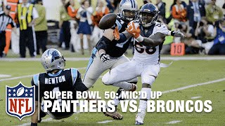 Download Panthers vs. Broncos: Super Bowl 50 | First Half Mic'd Up Highlights | Inside the NFL Video