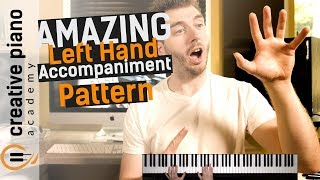 Download Left Hand Piano: A BEAUTIFUL left hand accompaniment pattern for piano Video