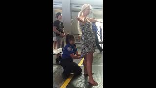 Download TSA pat down Sacramento international airport Video
