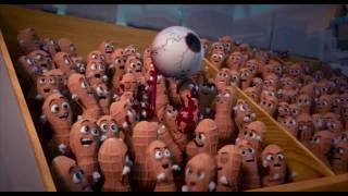 Download Sausage Party Gun and Douche Dies scene HD Video
