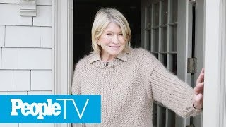 Download Martha Stewart Gives A Tour Of Her Dream Kitchen In Her Winter Home | PeopleTV Video