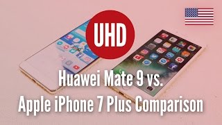 Download Huawei Mate 9 vs. Apple iPhone 7 Plus Comparison Video