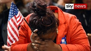 Download US election 2016: How voters reacted to the incredible result Video