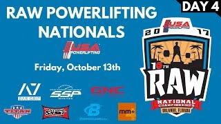 Download Friday (Multiview) - 2017 USA Powerlifting Raw Nationals Video