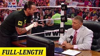 Download CM Punk negotiates his contract with Mr. McMahon Video