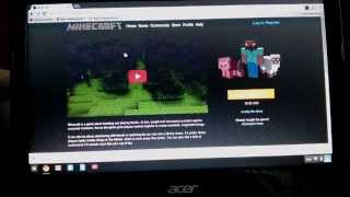 Download install minecraft on chromebook acer c720 Video