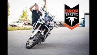 Download Africa Twin Drop Tested Crash Bars - Outback Motortek Video
