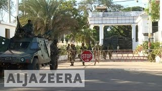 Download Gambia: West African troops secure presidential palace Video