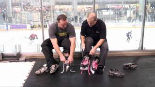 Download Active Basics NHL Pro Shows How to Tie Skates Video