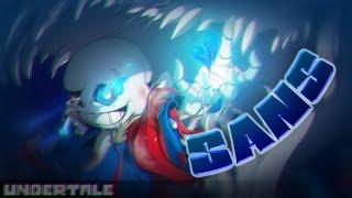 Download SANS - Undertale Speedpaint Video