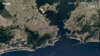 Download Google Timelapse: Rio de Janeiro, Brazil Video