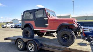 Download 1985 Jeep CJ7 Restoration by Miller Brothers Auto Repair Video