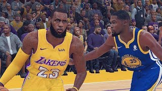 Download NBA 2K19 ROSTERS│WARRIORS VS LAKERS │LeBRON IN LA! Video