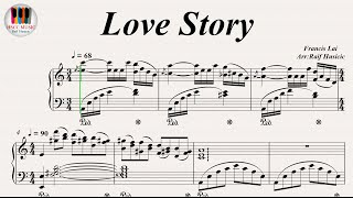 Download Love Story - Francis Lai, Piano Video