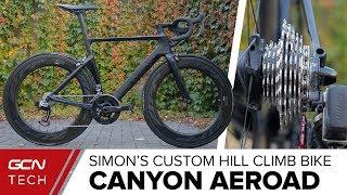 Download Si's Custom Canyon Aeroad Hill Climb Bike Video