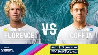 Download John John Florence vs. Conner Coffin - MEO Rip Curl Pro Portugal 2016 Final Video