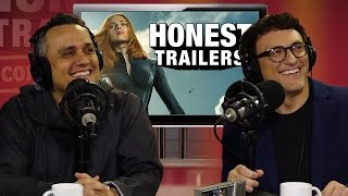 Download Russo Brothers' Honest Reaction to Winter Soldier Honest Trailer Video