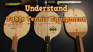 Download Understand Table Tennis Equipment | Choose Best Paddle and Rubber Video