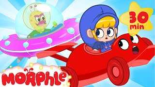 Download Alien Racecar! - My Magic Pet Morphle | Cartoons For Kids | Morphle TV | BRAND NEW Video