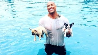 Download Dwayne Johnson Shares Heartbreaking Photo After His Puppy Dies Video