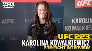 Download UFC 223: Karolina Kowalkiewicz Feels JJ 'Got What She Deserved' at UFC 217 Video