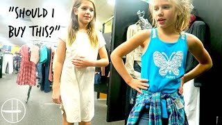 Download ″Should I buy this?″ Shopping vlog Thrift store challenge shopping at the thrift shop! hopes vlogs Video