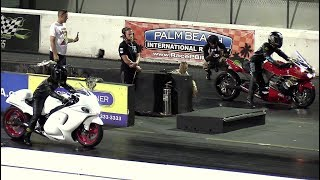 Download Hayabusa vs Ninja - superbikes drag racing Video