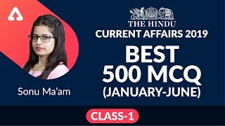 Download SBI PO/Clerk, LIC AAO, IBPS RRB & Others | Last 6 Months Current Affairs MCQ (January- June) Video