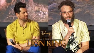 Download Billy Eichner and Seth Rogen discuss their roles as Timon and Pumbaa in ″The Lion King″ Video