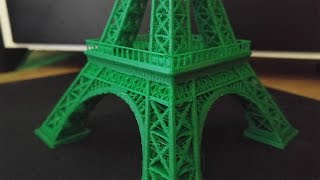 Download 3D printed Eiffel tower time lapse Video