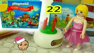 Download Mom Home - Playmobil Holiday Christmas Advent Calendar - Toy Surprise Blind Bags Day 22 Video