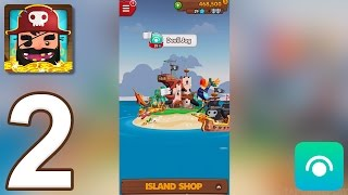 Download Pirate Kings - Gameplay Walkthrough Part 2 - Island 1: Tropical Coast (iOS, Android) Video