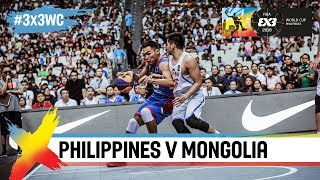 Download Philippines in tough battle with Mongolia! | Full Game | FIBA 3x3 World Cup 2018 Video
