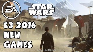 Download EA Star Wars New Games E3 2016 - Battlefront 2, Visceral Games, Respawn Entertainment Video