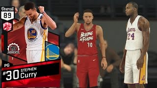 Download NBA 2K17 PS4 My Team - Ruby Stephen Curry Debut! Video