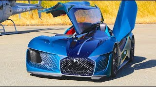 Download WEIRD! DS Self Driving Electric 2 Cars In 1 Sportscar 3 Seater 2035 DS X E-TENSE Paris Video