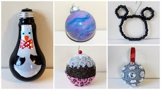 Download SEVEN CHEAP AND EASY DIY CHRISTMAS ORNAMENTS | 2015 Video