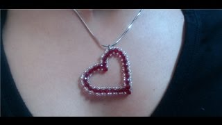 Download DIY Crystal Heart Pendant (quick and easy) / Valentine's day project Video
