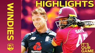 Download Buttler & Gayle Go Huge In Record Breaking Match | Windies vs England 4th ODI 2019 - Highlights Video