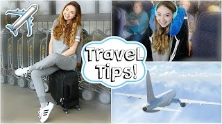 Download Airplane/Travel Tips + Easy Makeup & Outfit! | Meredith Foster Video