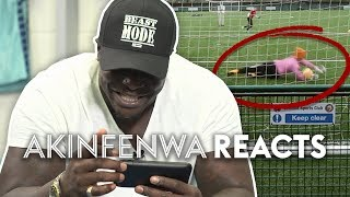 Download Akinfenwa Reacts To The WORST Goalkeeper On YouTube! | Stat Football ⚽ (HILARIOUS) Video
