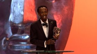 Download Barkhad Abdi wins Best Supporting Actor Bafta - The British Academy Film Awards 2014 - BBC One Video
