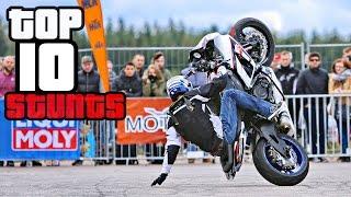 Download TOP 10 Best Motorcycle Tricks & Combos at StuntArt 2016 Video