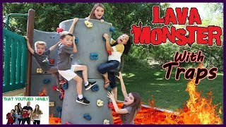 Download Lava Monster Tag With Traps / That YouTub3 Family Video
