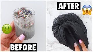 Download EXTREME SLIME MAKEOVERS *fixing my 1 year old slimes* Video