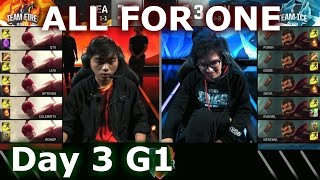 Download SEA (Lee Sin) vs LAN (Graves) One For All Mode | 2016 LoL IWC All-Stars Day 3 | FIRE vs ICE Video