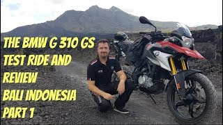 Download BMW G 310 GS Test Ride Review Part 1 Bali Indonesia Video