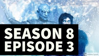 Download NIGHT KING RETREATS //SEASON 8 E3//GAME OF THRONES//THEORY Video
