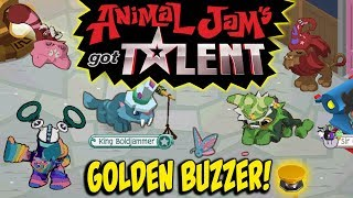 Download Animal Jam's Got Talent Part 4 - Golden Buzzer Skit Video